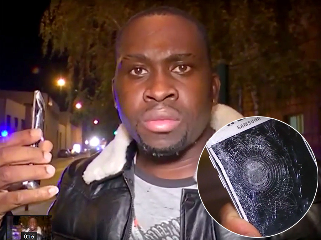 Man Claims His Cell Phone Saved His Life From Flying Shrapnel During Paris Attacks| Crime & Courts, Shootings, True Crime, Paris