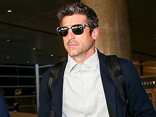 Patrick Dempsey Arrives in L.A. Solo After Showing PDA with Estranged Wife Jillian in Paris