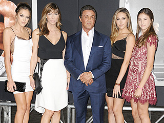 They're Knockouts! Sylvester Stallone's Wife and Daughters Stun at the Creed Premiere