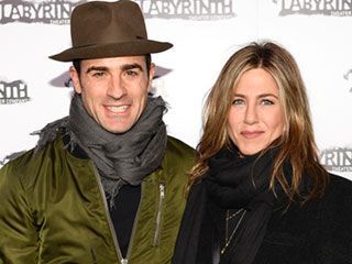 Jennifer Aniston and Justin Theroux Celebrate First Wedding Anniversary with a 'Relaxed' Night at Home