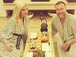 #DateDay! Tori Spelling and Dean McDermott Celebrate His Birthday at Spa Getaway