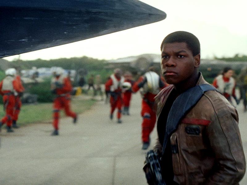 FROM EW: John Boyega Teases 'Darker' Star Wars: Episode VIII