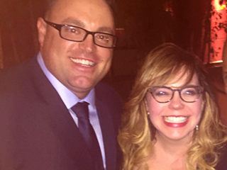 Kirsten Vangsness engagement ring