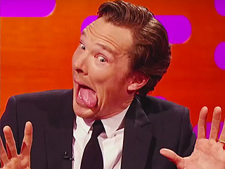 Benedict Cumberbatch Proves He's an Otter, Plus 5 More Iconic Cumber-Moments