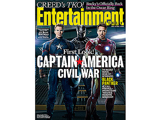 FROM EW: First Look at Captain America: Civil War