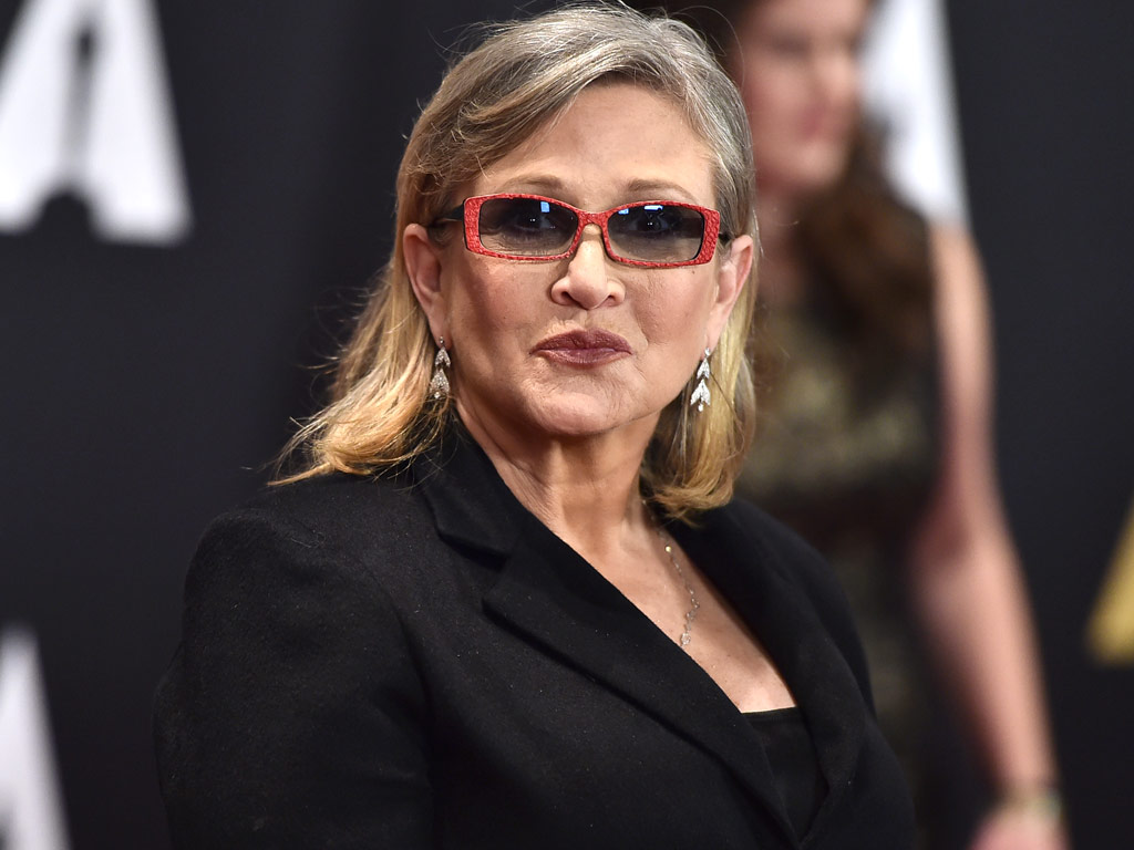 Star carrie wars fisher