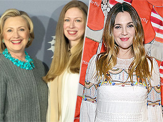 Drew Barrymore Teams Up with Hillary and Chelsea Clinton for 'Family Holiday' Fundraiser