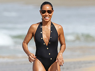 Scorching Hot! Jada Pinkett Smith Shows Off Her Rocking Beach Body in Hawaii