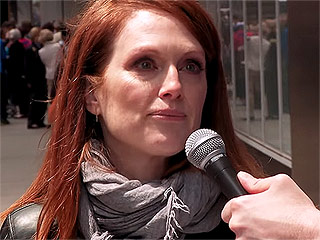VIDEO: Find Out Why Billy Eichner Is Making Julianne Moore Cry