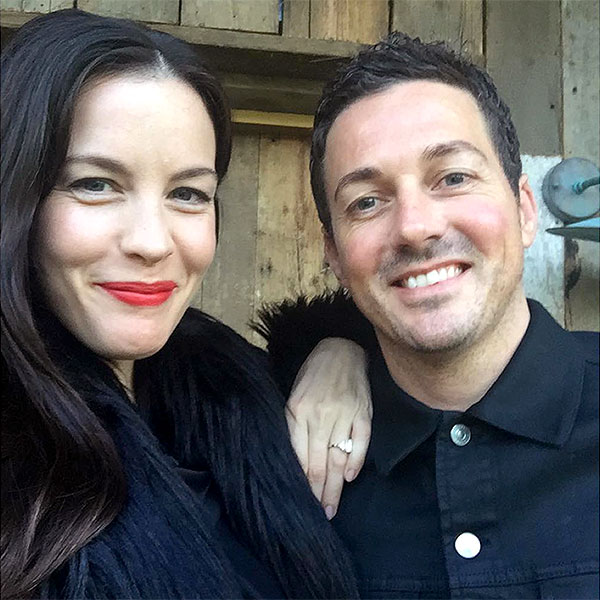 Liv Tyler Shows Off Engagement Ring In New Photo With