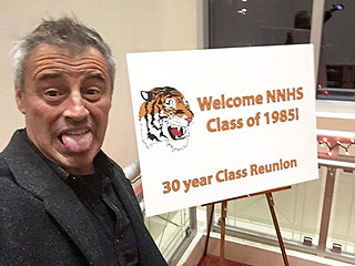 Don't Ask Him How He's Doin': Matt LeBlanc Feels '1,000 Years Old' at High School Reunion