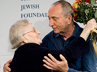 77-Year-Old Man Reunites with Polish Woman Whose Family Hid Him During the Holocaust: 'Whoever Saves One Soul, Saves the World'