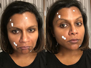 Mindy Kaling Wears Pimple Cream in Candid Instagram Post
