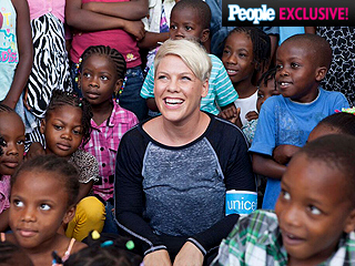 Pink Appointed as UNICEF Ambassador: 'The Fire Was Lit Because I'm a Mama'
