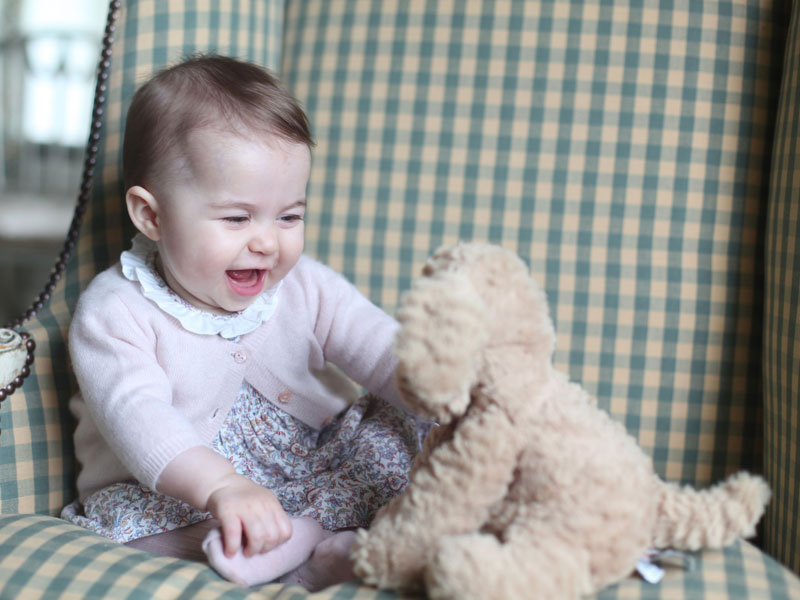 Hello from Princess Charlotte! See the Adorable New Photos| The British Royals, The Royals, Kate Middleton, Princess Charlotte