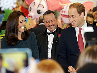 Prince William Teases Wife Kate at Charity Event: 'Catherine, You Can Stop Flirting with Them Now!'