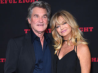 'Kurt Is Still My Heartthrob': Russell and Goldie Hawn Have Glitzy Date Night at Hateful Eight Premiere