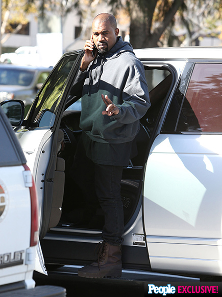 Proud Dad Kanye West Can't Stop Smiling On His First Outing Since Welcoming Son Saint| North West, Kanye West, Kendall Jenner, Khloe Kardashian, Kim Kardashian, Kourtney Kardashian, Kris Jenner, Kylie Jenner