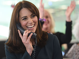 Windsors of Wall Street! Prince William and Kate Hit London's Trading Floor to Help Raise $540 Million for Charity