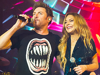 VIDEO: Lindsay Lohan Performs with Duran Duran!
