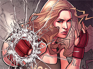 Ronda Rousey, Misty Copeland and Other Female Athletes Get Superhero Makeovers