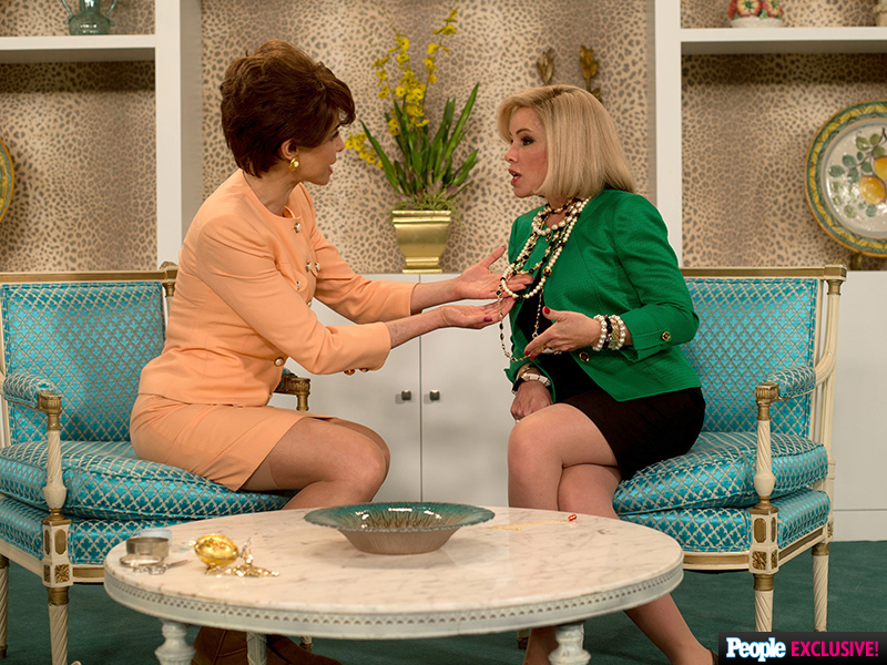 First Look! Melissa Rivers Plays Her Late Mom Joan in New Movie Joy| Jennifer Lawrence, Joan Rivers, Melissa Rivers