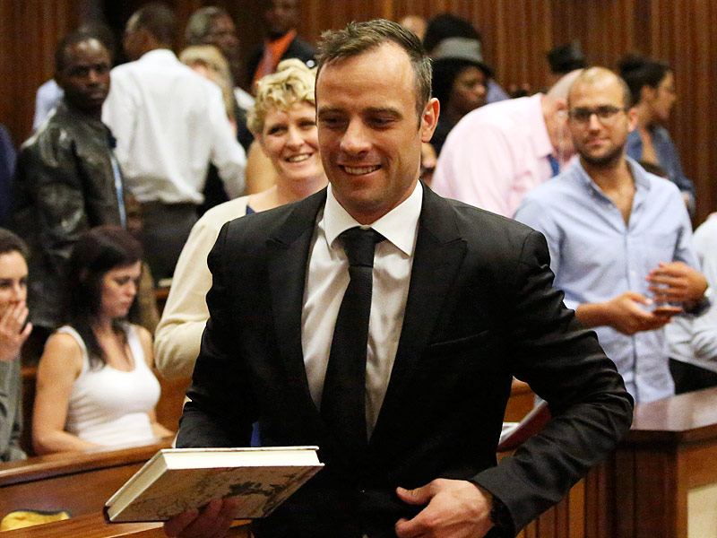 Oscar Pistorius Released on $692 Bail After Murder Conviction in Death of Girlfriend Reeva Steenkamp| Crime & Courts, Death, Murder, True Crime, True Crime, Oscar Pistorius, Reeva Steenkamp