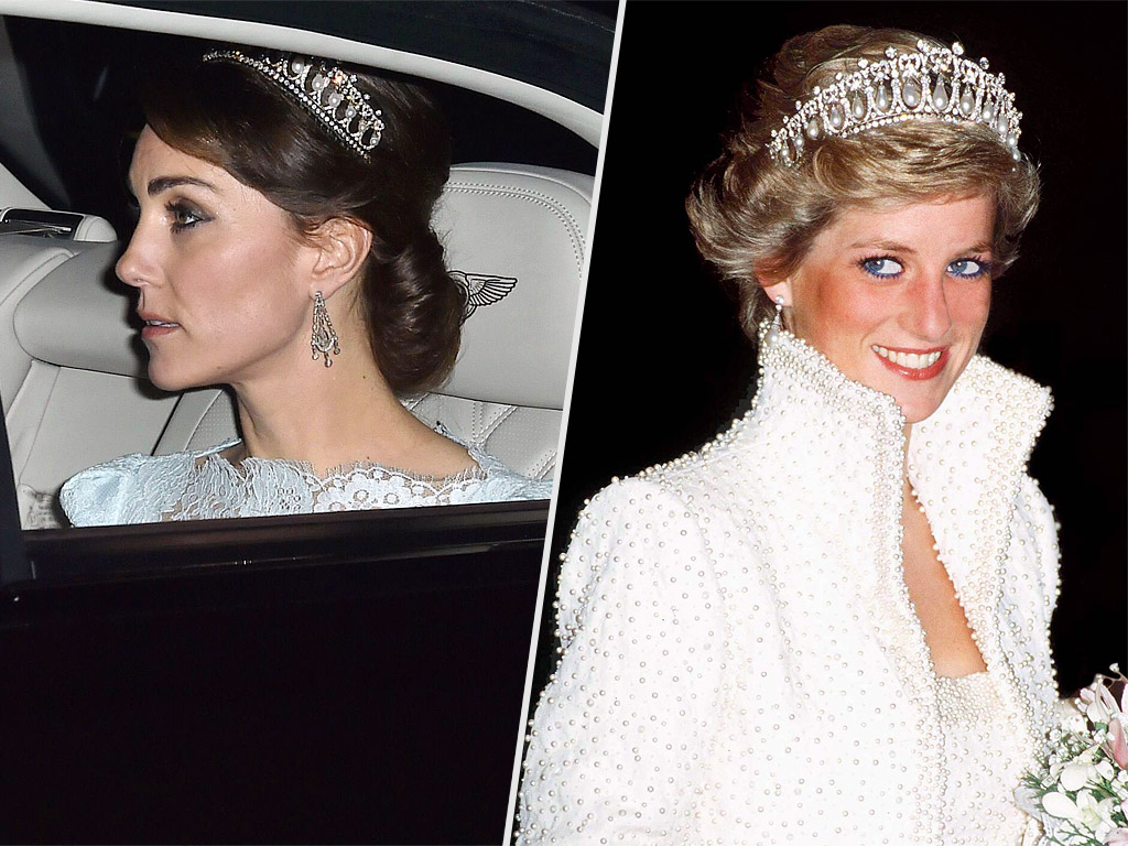 Your Weekly Tiara Treat: The Amazing History Behind Princess Diana's Favorite Sparkler – Queen Mary's Lover's Knot| The British Royals, The Royals, Kate Middleton, Princess Diana, Queen Elizabeth II