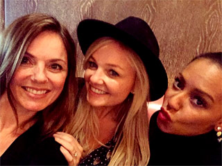 It's a Mini Spice Girls Reunion! Mel B, Geri and Emma Reunite for an Afternoon Meet-Up