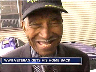 Neighbor Raises $110,000 for 90-Year-Old Veteran Evicted From House: 'I'm Very Happy to Spend Christmas in My Home'