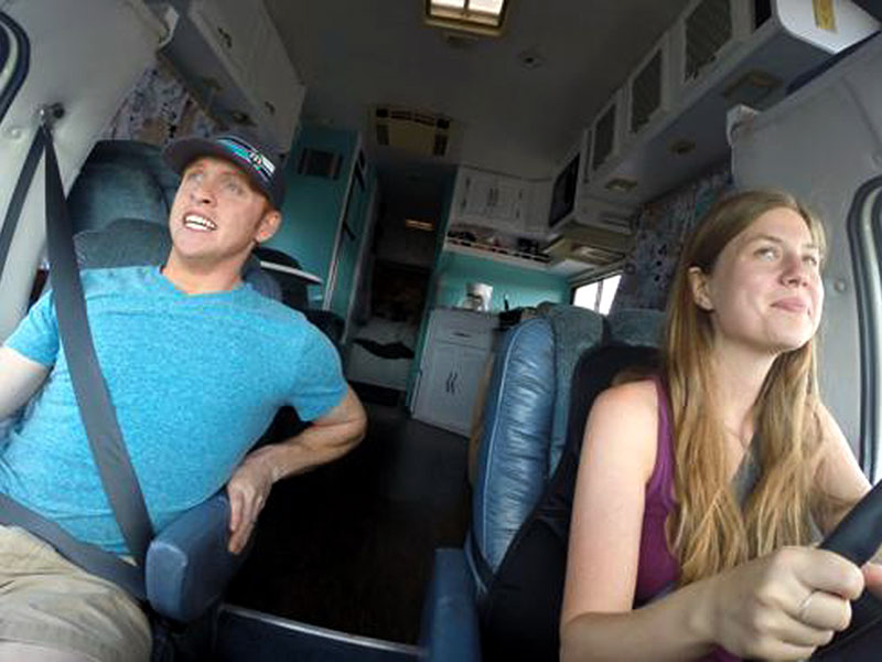 Meet the Newlyweds on a Mission to Travel to All 50 States in an RV – and Working Hourly Jobs Along the Way| Couples, Real People Stories