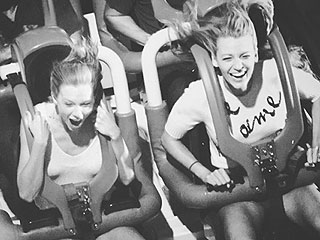 Hang On! Blake Lively Sends Birthday Greeting to Taylor Swift with Fun Roller-Coaster Pic