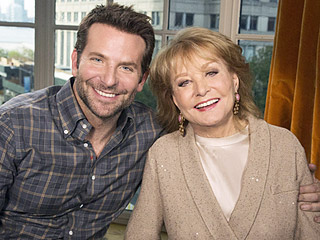 Wow, Barbara! Walters Tells Bradley Cooper He's 'Very Screwable' During His 10 Most Fascinating People of 2015 Interview