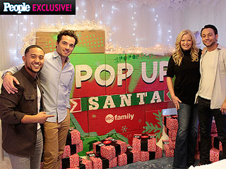 Ian Harding and Tahj Mowry Surprise Patients at Children's Hospital for Heartwarming Holiday Party