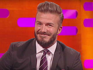 David Beckham Says PEOPLE's Sexiest Man Alive Title Still Doesn't Make Him 'Cool' to His Kids