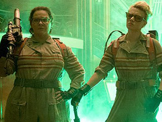 Suited Up and Ready! First Official Photo from the Ghostbusters Reboot Is Here