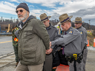 Actor James Cromwell Arrested During Power Plant Protest In New York
