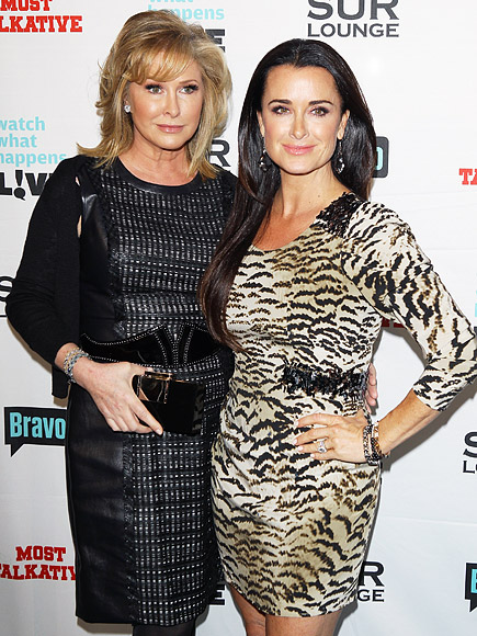 Real Housewives Drama: Kyle Richards and Sister Kathy Hilton 'Aren't Speaking,' Says Source| Real Housewives of Beverly Hills, TV News, Kim Richards, Kyle Richards