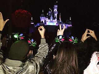 Kourtney Kardashian Takes Kids to Disneyland to Celebrate Sons Mason and Reign's Shared Birthday