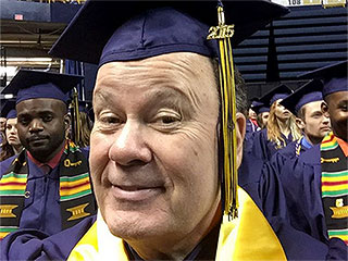Saved by the Bell's Mr. Belding (a.k.a. Dennis Haskins) Is Officially a College Graduate at 65