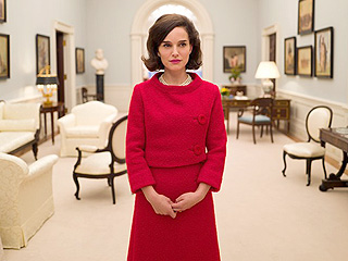 Chills! See Natalie Portman Channel Jacqueline Kennedy in This Evocative First Still from Jackie