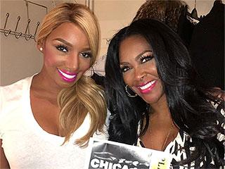 Former RHOA Rivals NeNe Leakes and Kenya Moore Meet Up Backstage with 'No Ulterior Motives'