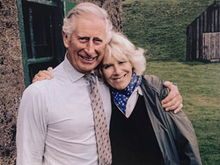 Royal Cuddle! Prince Charles and Camilla Share a Cozy Hug on Their Sweetest Christmas Card Yet