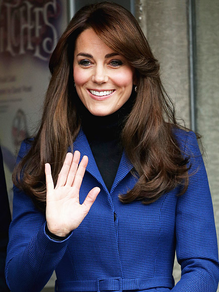 Pinky Out! Princess Kate Has a Signature Wave| The British Royals, The Royals, Kate Middleton