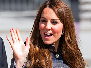 Pinky Out! Princess Kate Has a Signature Wave