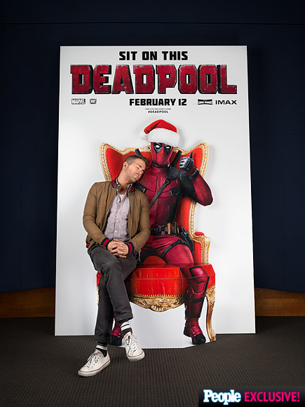 Ryan Reynolds Is Naughty and Nice Posing for Photos with His Deadpool Character: See the Goofy GIF!| Movie News, Ryan Reynolds