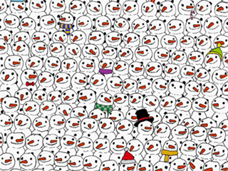 There's a Panda Hidden by Snowmen and the Internet Is Freaking Out
