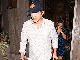The Birthday Celebration Continues! Ashton Kutcher & Mila Kunis Spotted Leaving Restaurant Carrying Gifts