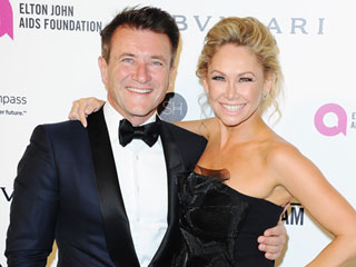 Dancing with the Stars Partners Robert Herjavec & Kym Johnson on Their Engagement: 'We're Walking on Air!'