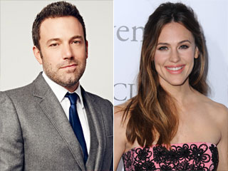 WATCH: Ben Affleck Says He and Jennifer Garner Are 'On Great Terms'